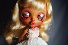 thePJdoll Sally Custom Blythe Doll/tan girl/OOAK por ThePJdoll