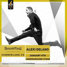 Alexi Delano  Dj Confirmado  Summerland 2015