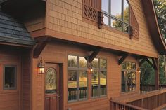 What are the best house siding options? Find out your best house siding options in this guide, including vinyl, cedar shake, fiber-cement, and more. Blue Siding, Siding Colors, Exterior Siding, Exterior House Colors, Exterior Design, Building Exterior, Exterior Paint, House Siding Options, Best Siding For House