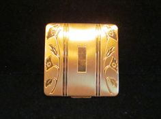Vintage Compact Art Deco Compact Powder by PowerOfOneDesigns, $59.99