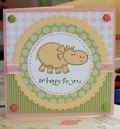 new baby by daotz - Cards and Paper Crafts at Splitcoaststampers