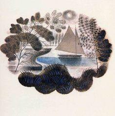 "Eric Ravilious: ""Travel"" design for Wedgwood"