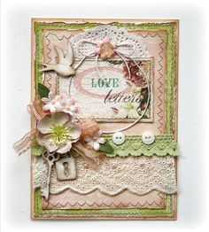 Card made with Websters Pages Western Romance collection by design team member Gabrielle Pollacco
