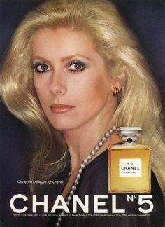 vintage_ads: Chanel N° 5 & its most famous face, Catherine Deneuve.