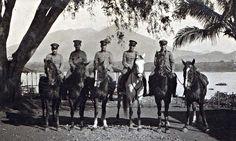 Jongh, Karel de 1930 Bandoeng Bandoeng opa op paard