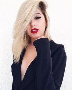 Websites Like Fashion Nova, Platinum Hair, Pretty Girls, Makeup Looks, Barbie, Instagram, Long Hair Styles, Female, How To Make