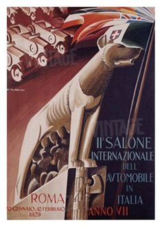 2nd Salone Automobile Italia , 1929. http://www.allposters.com/-sp/2nd-Salone-Automobile-Italia-Posters_i394780_.htm