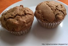 Gluténmentes, tojásmentes, tejmentes mazsolás - diós muffin Muffin, Naan, Breakfast, Recipes, Paleo, Dios, Morning Coffee, Muffins