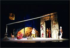 La Boheme (Act I) San Francisco Opera Center. Scenic design by Cameron Anderson.