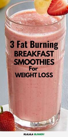 Breakfast Smoothies For Weight Loss, Weight Loss Smoothies, Healthy Smoothies, Smoothie Diet, Weight Loss Protein Shakes, Fat Burning Smoothies, Protein Smoothie Recipes, Green Smoothie Recipes, Loosing Weight