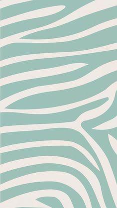 iPhone wallpaper #zebra #animal #teal #pattern