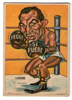 "Nicolino ""El Intocable"" Locche - Box #150  1967"
