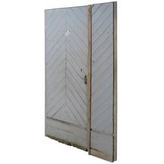 "French Countryside Farm Door In Wood ""Chevron"" Style 18th C France.'. 1"