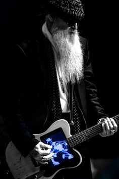 Billy Gibbons' New Toy – Texas Monthly Billy Gibbons Guitar, Billy F Gibbons, Psychedelic Rock Bands, Ronnie Wood, Zz Top, Guitar Collection, Boogie Woogie, Concert Posters, Music Posters