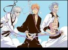 Hichigo, Ichigo, Grimmjow*
