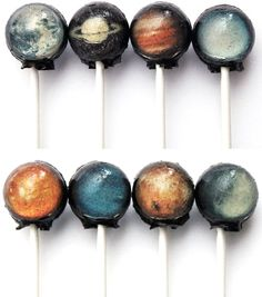 Planet lollypops