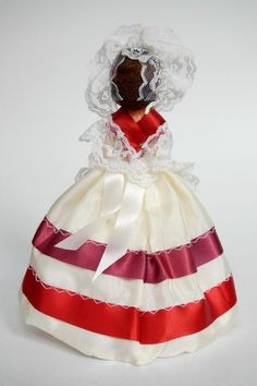 Luxembourg Doll Dressed in White
