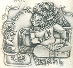 Mayan art – Katriona Chapman Illustration