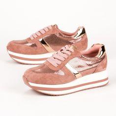 Γυναικεία sneakers με πλατφόρμα