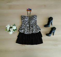 Vestido lindo Tomara que caia!   Patris Boutique, prazer em vestir você!