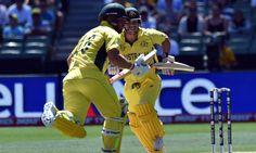 Australia v England: Cricket World Cup – live!