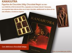 ¡Original Chocolate Kamasutra! ¿Usted sabe? Sutra, Books, Chocolate Candies, Best Chocolates, Bonbon, Messages, Originals, Different Types Of, Shapes