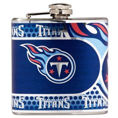 Stainless NFL Flask - Tennessee Titans