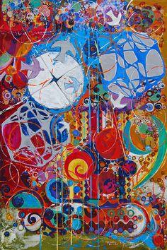 Série de pinturas inspiradas em Brasília 30 x 45 cm  Mista sobre tela