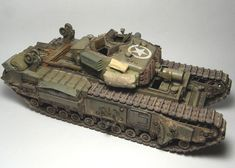 Warhammer Imperial Guard, Military Weapons, Armors, Old Toys, Churchill, Scale Models, Military Vehicles, Diecast, Tanks