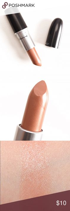 MAC High Tea Lustre Lipstick MAC High Tea Lustre Lipstick is a warm beige with a frost finish. Now discontinued so you won't be able to buy this shade anymore!  Used three times, otherwise the lipstick is in excellent condition and almost completely full. MAC Cosmetics Makeup Lipstick