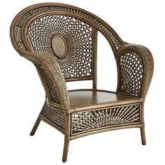 Azteca Armchair - Antique Gray