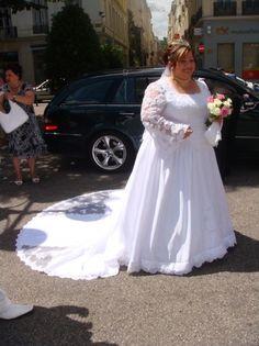 Robe de mariée grande taille de la marque Lambert Créations pour ...
