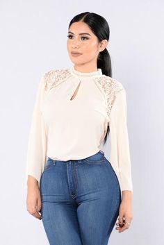 Salma Top - Ivory