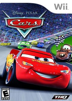 Cars - Nintendo Wii: In Cars, you'll get a chance to live out the thrills and fun of the new Disney/Pixar animated film! Play as all your favurite characters from the movie, as you help Lightning McQueen capture the coveted Piston Cup Championship. Xbox 360, Playstation, Xbox Xbox, Wii Games, Latest Video Games, Walt Disney Pictures, Pixar Movies, Disney Pixar Cars, Lightning Mcqueen