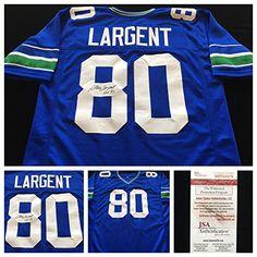 Steve Largent Seattle Seahawks Authentic Jerseys