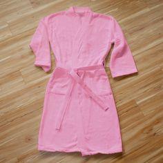 Bath Robe in Pink | Dorm Bedding and Bath | OCM.com