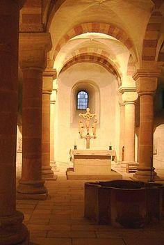 Speyer Krypta1 - Speyerer Dom – Wikipedia