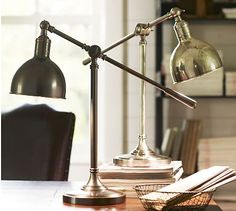 Cole Task Table Lamp #potterybarn
