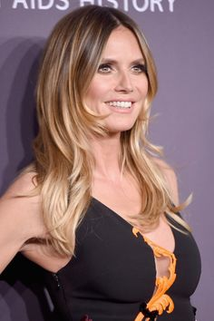 Heidi Klum attends the 19th Annual amfAR New York Gala.