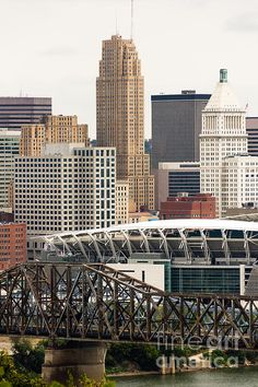 Buildings in downtown Cincinnati (OH)