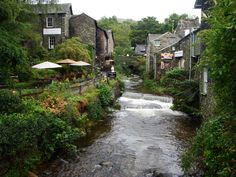 Ambleside, the Lakes District, England