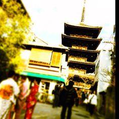 八坂の塔 in Kyoto