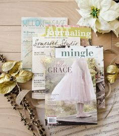 We're giving away 15 subscriptions to your favorite Stampington magazines! Get ready to receive free inspiration to your doorstep! Altered Books, Altered Art, Free Magazine Subscriptions, Willow And Sage, Christmas To Do List, Travel Journal Pages, Free Magazines, Book Nooks, Magazine Art