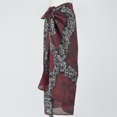 Batik Beach Pareo Scarf (also available in purple)
