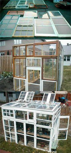 42 Best DIY Greenhouses with Great Tutorials