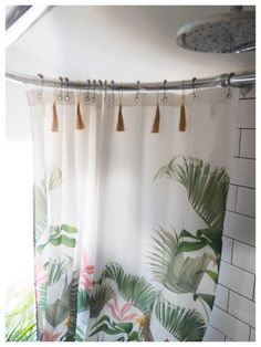 Tips on how to give your bathroom a summer refresh using the tropical trend with these 7 key buys - Maxine Brady from We Love Home Interior Stylist, Home Interior Design, Interior Decorating, Wooden Bath, Tropical Prints, Clean Space, Bathroom Styling, Bathroom Ideas, Painted Floors
