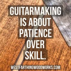 Guitar making is really about patience more than anything else. You have the ability to make an acoustic guitar if you take the time to learn the processes that you need to learn, and have the patience to work through the build carefully. It's not about getting one big thing right, it's about getting all the small things done as best you can. Enjoy the post and happy building.