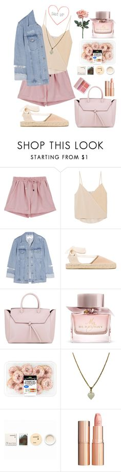 """""""#00078"""" by nglmfrryln ❤ liked on Polyvore featuring Chelsea Flower, Acne Studios, Soludos, Alexandra de Curtis, Burberry, Zara Taylor, Korres, Charlotte Tilbury, Anastasia Beverly Hills and Keurig"""