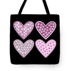 Thing 1, I Love Heart, Two Daughters, Tag Art, Basic Colors, Poplin Fabric, Bag Sale, Pretty In Pink, Tote Bags