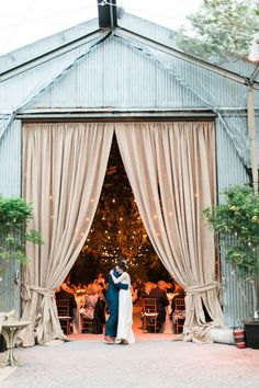 convert a barn into a dreamy wedding venue.